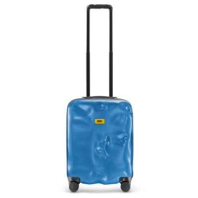 【Crash Baggage】New Icon拉鍊款20吋電光藍防撞行李箱
