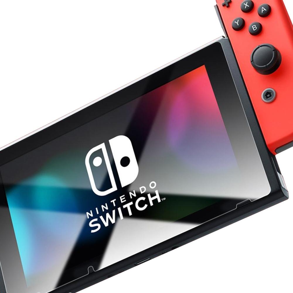 任天堂 Switch  高清 透明 9H 鋼化玻璃膜 螢幕 保護貼-Switch透明*1
