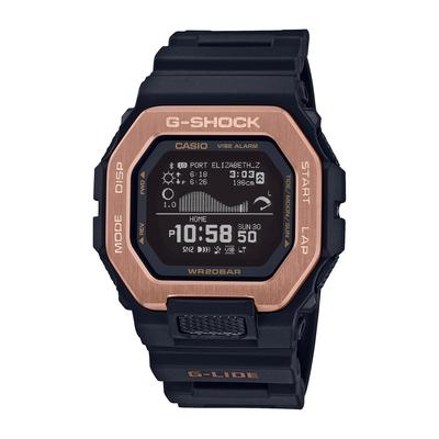 CASIO卡西歐 G-SHOCK 藍牙 衝浪運動 雙重材質錶圈 運動系列 GBX-100NS-4_46mm