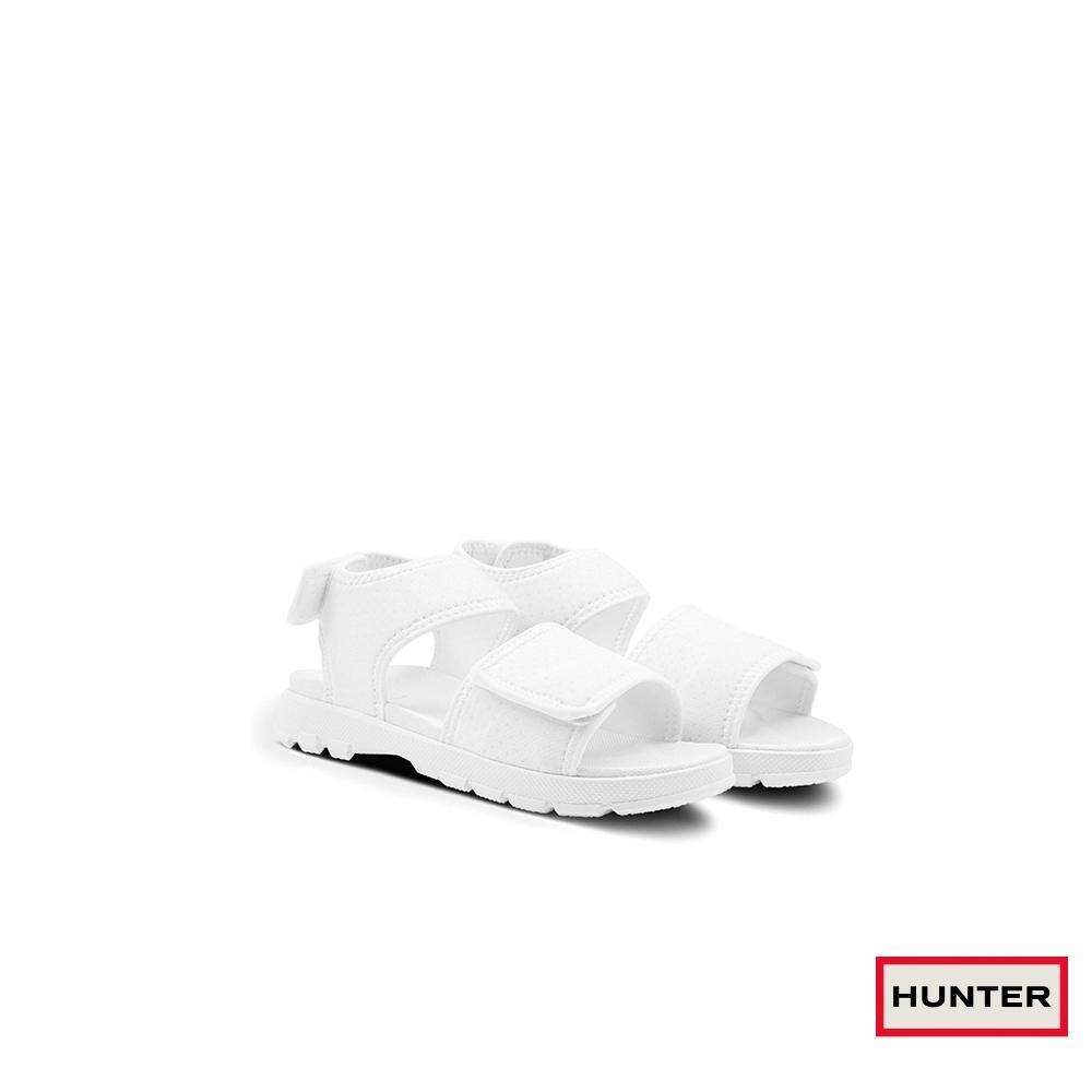HUNTER -女鞋-潛水布戶外涼鞋-白色