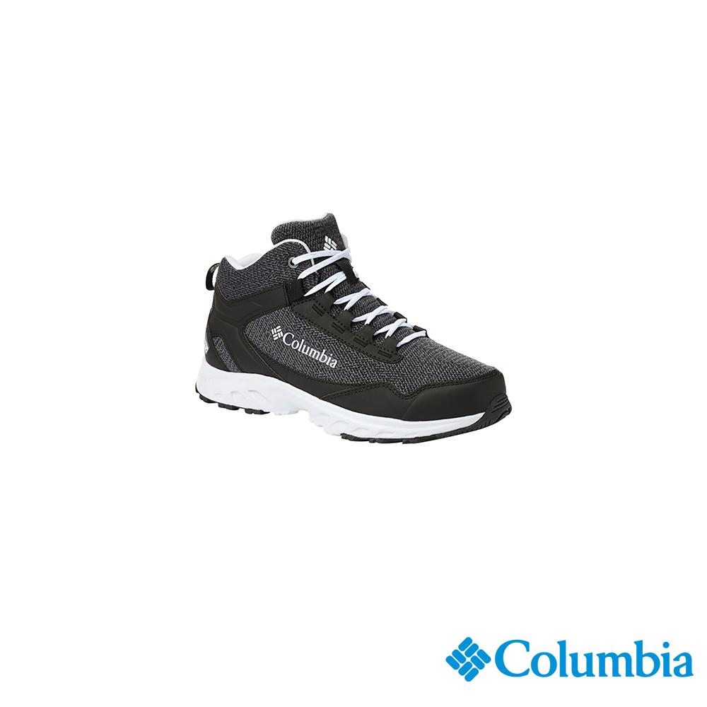 Columbia 哥倫比亞 女款-OD防水高筒休閒鞋-黑色UBL19070BK