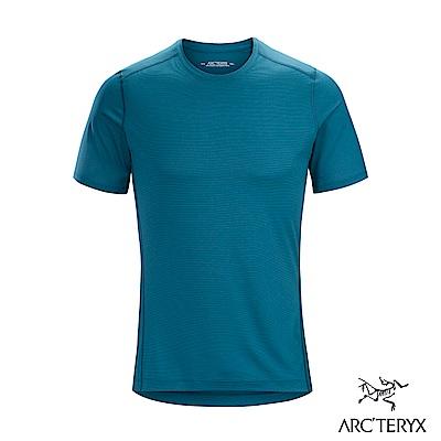 Arcteryx 始祖鳥 男 Phase SL 輕量內層短袖圓領衫 神話綠