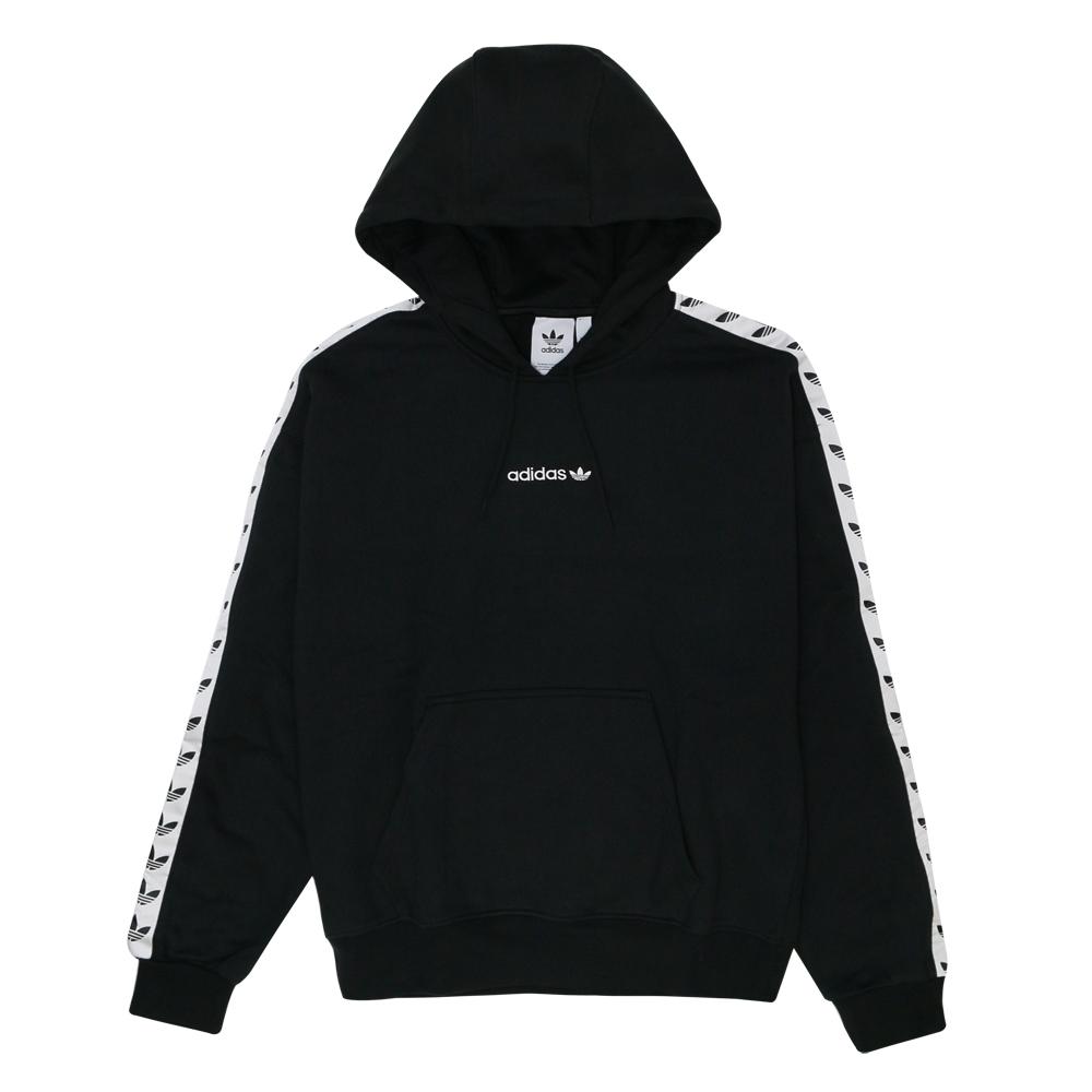 ADIDAS TAPE OH HOOD 男 連帽上衣 黑-DX1301