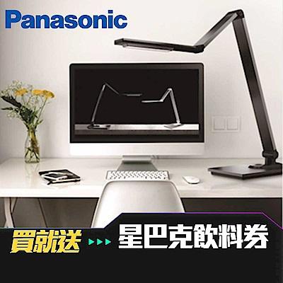 (送星巴克飲料券)【國際牌Panasonic】M系列 鐵灰 觸控式四軸旋轉LED檯燈