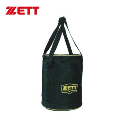 ZETT 置球袋 黑 BAT-255