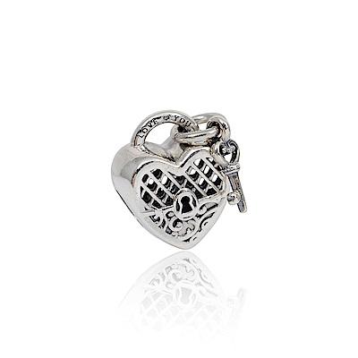 Pandora 潘朵拉 魅力心之鎖 純銀墜飾 串珠