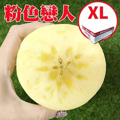 [甜露露]青森直送粉紅戀人套袋蘋果XL 18入原裝箱全球首發