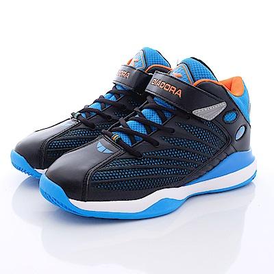DIADORA 寬楦高支撐籃球款 TH536黑藍(中大童段)