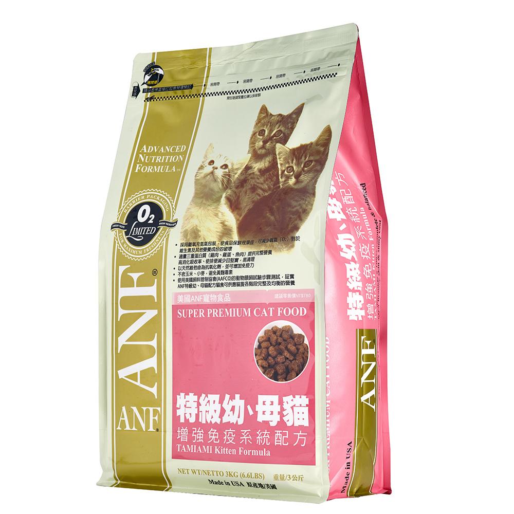 【ANF 愛恩富】特級幼母貓6kg(增強免疫系統配方)