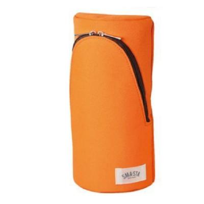 SONIC 直立式 筆袋 桔 FD-7041