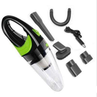 USB無線手持吸塵器 車用吸塵器手持吸塵器 小型吸塵器白綠色