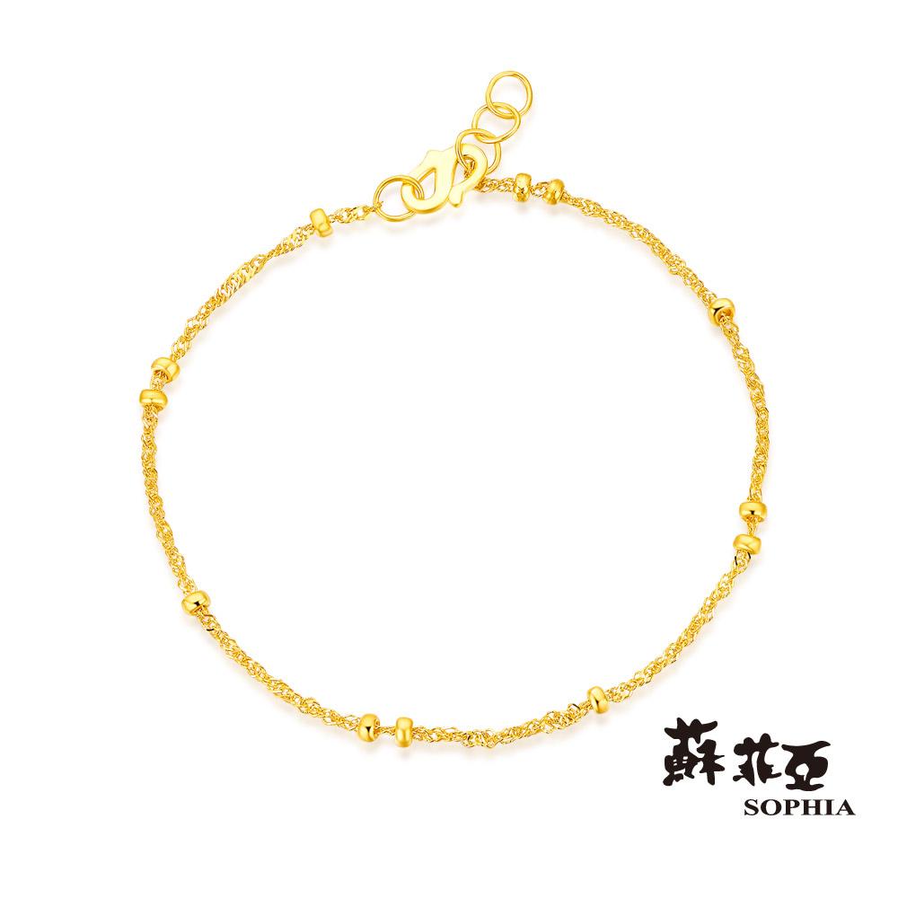 蘇菲亞SOPHIA - G LOVER系列雨點黃金手鍊