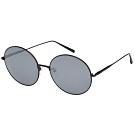 LONGCHAMP 水銀面 圓框 太陽眼鏡 (黑色)LO116
