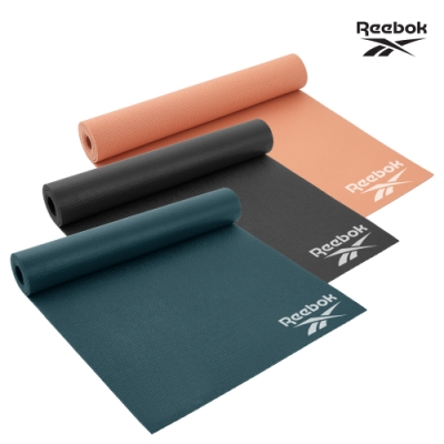 Reebok 輕薄防滑瑜珈墊-4mm(共三色)