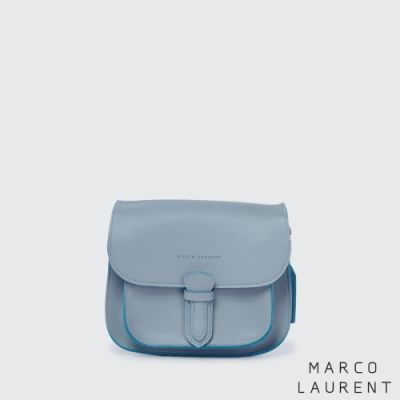 MARCO LAURENT Painter Play 迷你撞色微笑包 - 淺藍