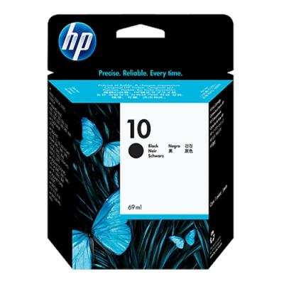 HP NO.10 (C4844A) 黑色 原廠墨水匣