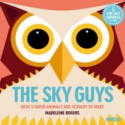 Mibo The Sky Guys 趣味勞作童書-來自天空的使者