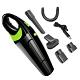 USB無線手持吸塵器 車用吸塵器手持吸塵器 小型吸塵器黑綠色 product thumbnail 1