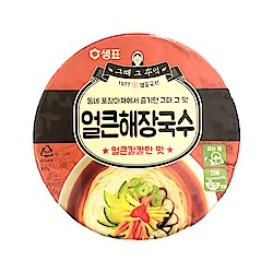 韓味不二-膳府辣海鮮湯杯麵92g