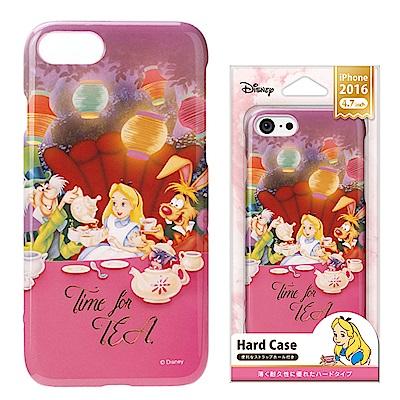 iPhone 8/7/手機殼 迪士尼 PC塗鴉 硬殼 4.7吋-愛麗絲
