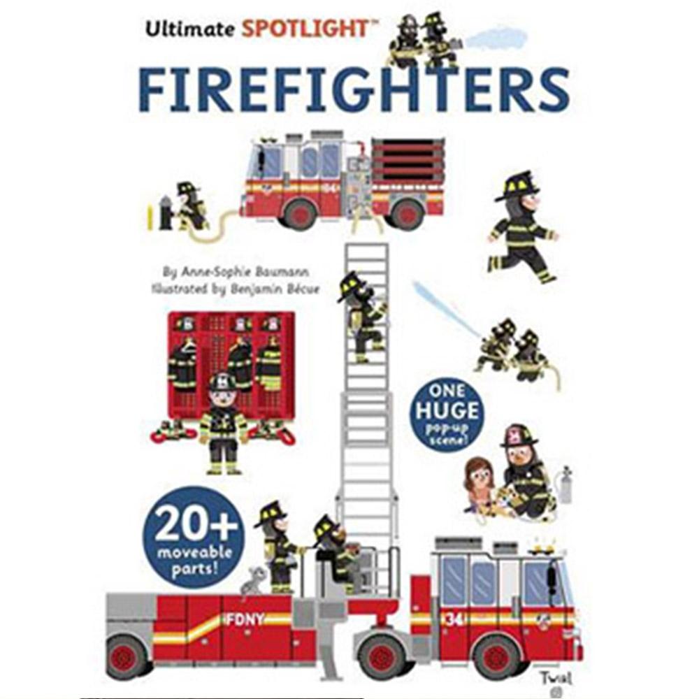 Ultimate Spotlight:Firefighters 消防員出任務翻頁推拉書
