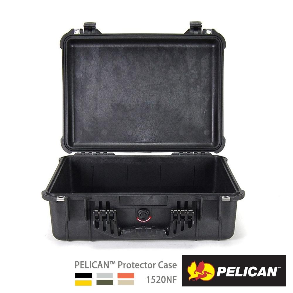 美國 PELICAN 1520NF 氣密箱-空箱(黑)