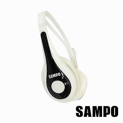 SAMPO聲寶頭戴式電腦用雙插頭耳麥EK-YF52CH