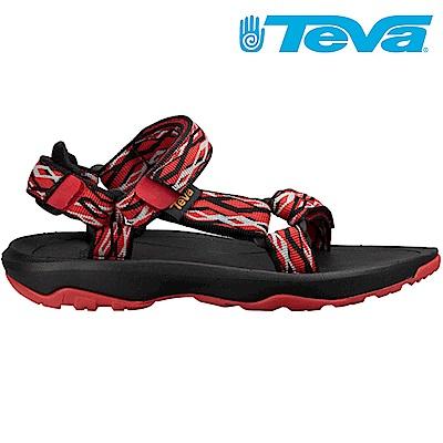 TEVA Hurricane XLT2 大童 休閒涼鞋 鎖鏈黑紅