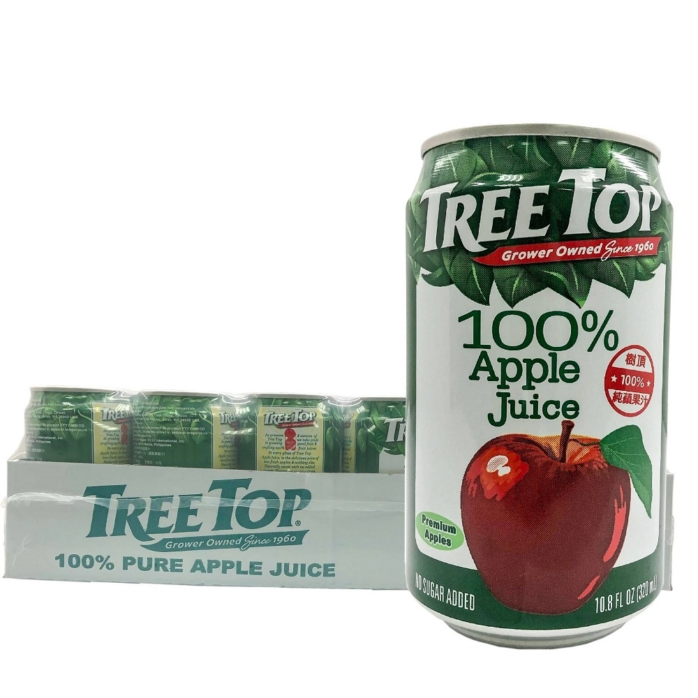 Tree Top樹頂 100%純蘋果汁(320mlx24入)