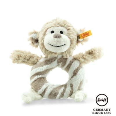 STEIFF德國金耳釦泰迪熊  Bingo monkey Grip Toy  俏皮小猴子 (嬰幼兒手搖鈴)