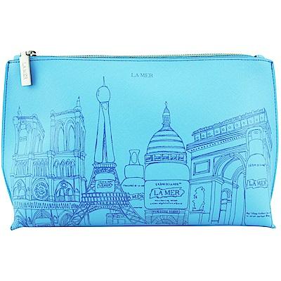 LA MER海洋拉娜 限量城市化妝包(藍色)