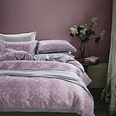 Lily Royal 60支頂級天絲 四件式兩用被床包組 雙人 西瑞爾紫