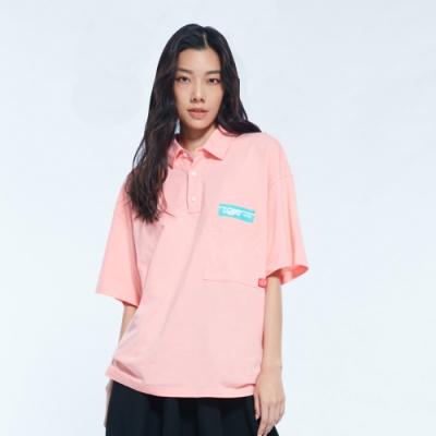 UDOU skateboard短袖T恤(粉)