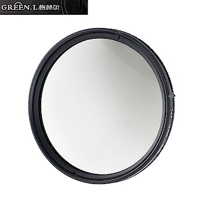 (無鍍膜非薄框)GREEN.L CPL偏光鏡72mm偏光鏡Circular Polarizer Filter環形環型偏光鏡圓形圓型偏光鏡