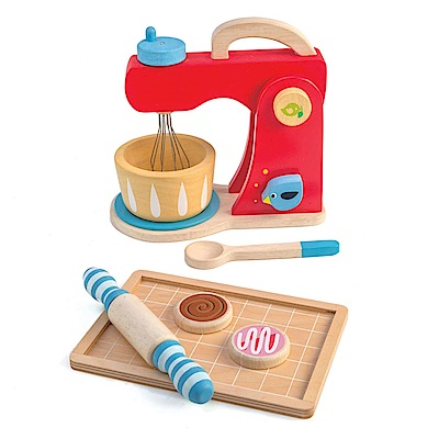 Tender Leaf Toys木製家家酒玩具-巧手烘焙組玩具(攪拌器)