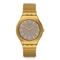 Swatch 金屬系列手錶 MESH OHONEY-42.7mm