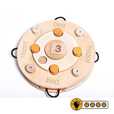 【靈靈狗】生日蛋糕輪盤 - 寵物桌遊/益智玩具/互動遊戲