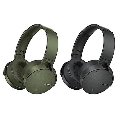 SONY重低音降噪頭戴式藍牙耳機MDR-XB950N1 送SONY隨身包