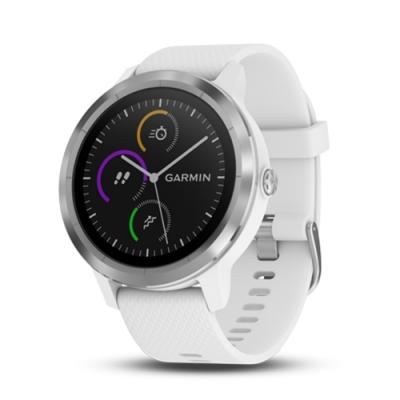 GARMIN vivoactive3 行動支付心率智慧腕錶-韻律白