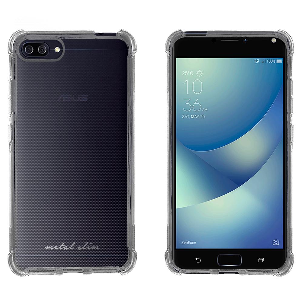Metal-Slim ASUS ZenFone4 Max ZC554KL防摔抗震空壓手機殼