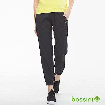 bossini女裝-休閒長褲01黑
