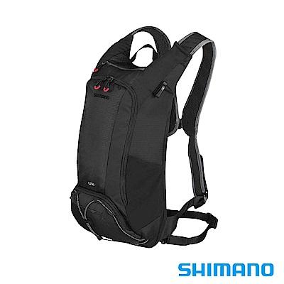 SHIMANO UNZEN 登山車後背包-無水袋 14L 黑