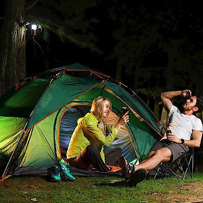 【KISSDIAMOND】全新液壓三合一秒搭帳篷戶外露營豪華組