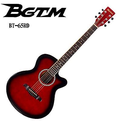 BGTM 入門嚴選BT-65木吉他-質感紅