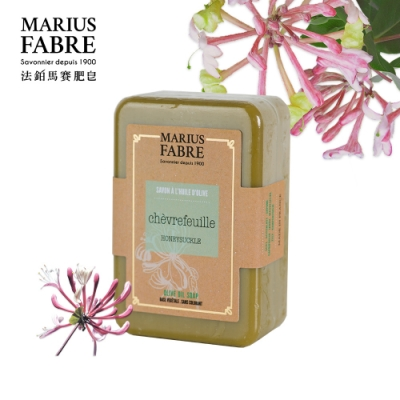 法國法鉑-忍冬橄欖草本皂-250g/顆