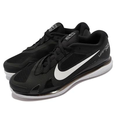 Nike 網球鞋 Zoom Vapor PRO HC 男鞋 透氣 支撐 包覆 氣墊 避震 運動訓練 黑 白 CZ0220-024