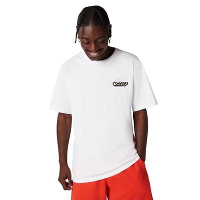 CONVERSE CLASSIC SCRIPT TEE 男 短袖上衣 白色-10021516-A02