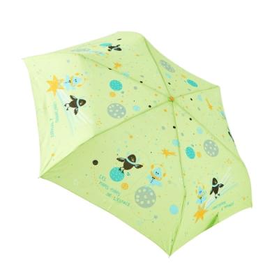 RAINSTORY DJ星球(綠)抗UV手開輕細口紅傘