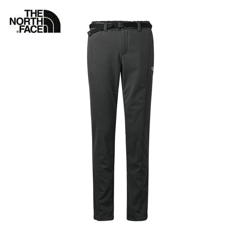 The North Face北面女款黑色合身保暖舒適長褲|364FJK3