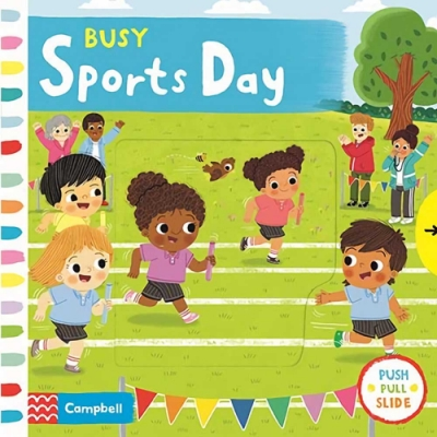 Busy Sports Day 忙碌的運動會操作書
